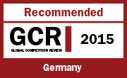 Recommended GCR 2015