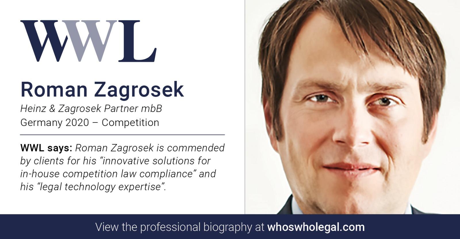 Roman Zagrosek Heinz & Zagrosek Partner mbB